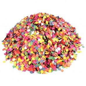 Sachet de 1Kg de Confettis multicolores