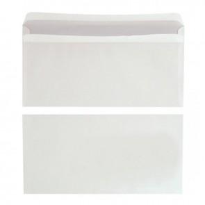 Boîte de 500 enveloppes blanches C6 114X162 80g/m² autocollantes