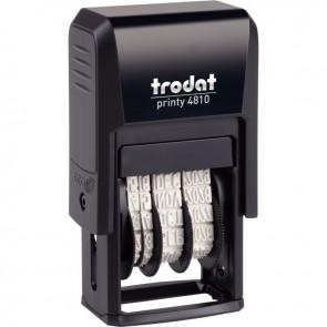 Dateur Printy 3,8 mm à encrage automatique sans plaque encré noir