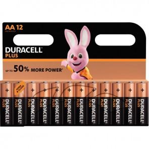 Blister de 12 Piles 1.5V PLUS à la marque Duracell LR06