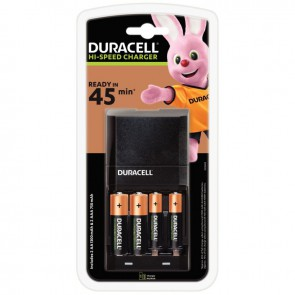 Chargeur CEF27 DURACELL + 2accus AA et 2 accus AAA