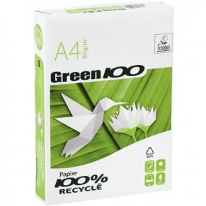 Ramette de 500 feuilles de papier blanc 80g de format A4 M GREEN