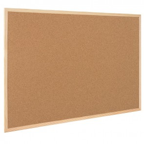 Tableau liège cadre bois 40x60cm