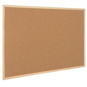 Tableau liège cadre bois 60x90mm