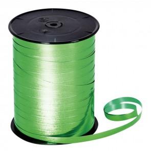 Bobine de 250m de longueur sur 7 mm de largeur de bolduc lisse vert empire