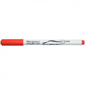 Feutre tableau blanc pointe moyenne rouge