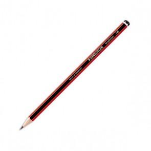 Crayon à papier HB  Tradition 110 ( décor rayé noir et rouge) Crayons et porte-mines