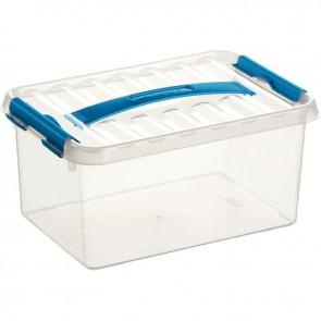 Boîte de rangement avec couvercle QLINE 6L 30,7x20x14,3
