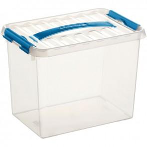 Boîte de rangement avec couvercle QLINE 9L 30,7x20 x22,3