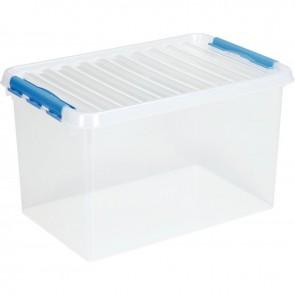 Boîte de rangement avec couvercle QLINE 62L 60x40x34