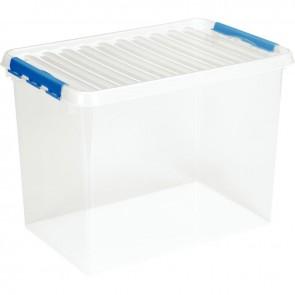 Boîte de rangement avec couvercle QLINE 72L 60x40x42