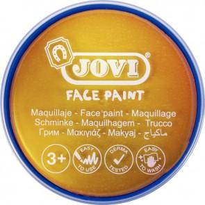 Galet de maquillage crème de couleur Or métallique