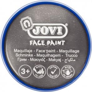 Galet de maquillage crème de couleur Argent métallique