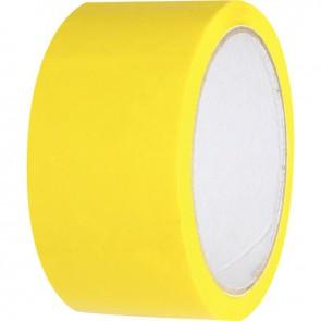 Rouleau adhésif d'emballage jaune 66 mètre
