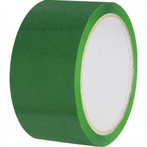 Rouleau adhésif d'emballage vert 66 mètre