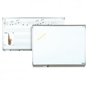 Tableau blanc émaillé 100x200 + auget