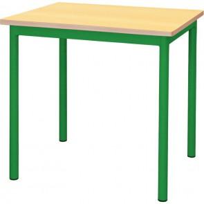Table maternelle 60x50cm T3 vert