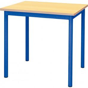 Table maternelle 60x50cm T3 bleu