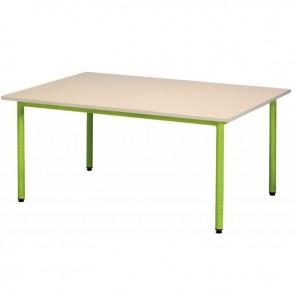 Table maternelle 160x80cm T2 vert