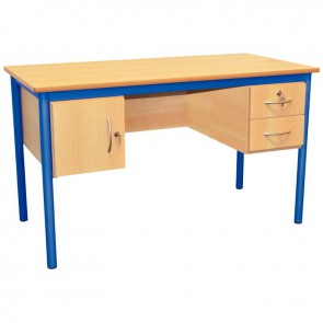 Bureau du professeur 160x80cm bleu