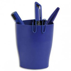 Pot à crayons ECO bleu