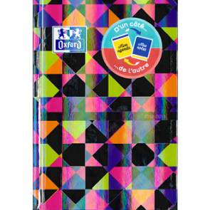 Agenda fluo brillant OXFORD NOIR