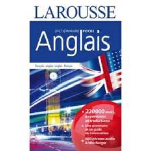 Dictionnaire de poche Larousse Anglais Français 220 000 mots et expressions traduites