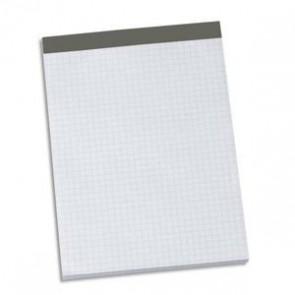 Bloc 1er prix sans couverture 60g 21x32cm (A4+) petits carreaux 5x5. Feuilles détachables