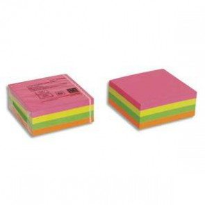 Bloc cube 320 feuilles post it repositionnables