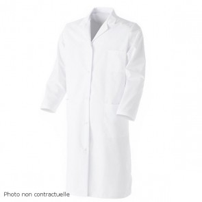 Bouse chimie 100% coton blanche