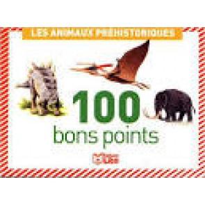 100 bons points animaux préhistoriques