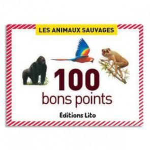 boite 100 bons points les animaux sauvages