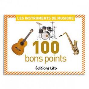 100 bons points instruments de musique