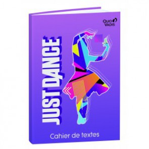 Cahier de textes Just Dance