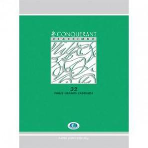 Cahiers 17x22 cm en 32 pages SEYES 3 mm.