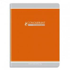 Cahiers maternelle 7x22 cm en 32 pages avec double ligne 3 mm, interligne 10 mm  CONQUERANT 90g