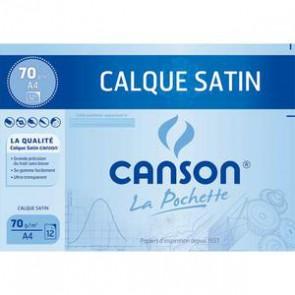 Calque satin Canson 12 feuilles 24x32