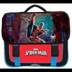CARTABLE SPIDER-MAN pour CP/CE1 avec 2 compartiments + 1 poche extérieure 16 litres