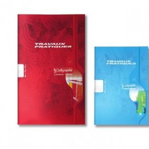 Liste scolaire discount : Cahier TP petite taille 17 x 22 cm en  48p 24 blanches + 24 Seyès
