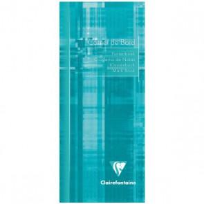 Carnet de bord piqué 85x200 32 pages. Référence Clairefontaine 3529C