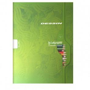 Cahier de dessin 24X32  CLAIREFONTAINE