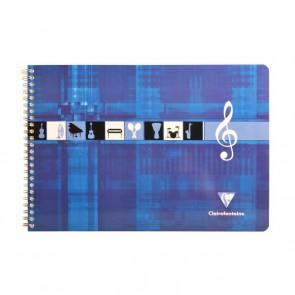 Cahier de musique ou de portées CLAIREFONTAINE