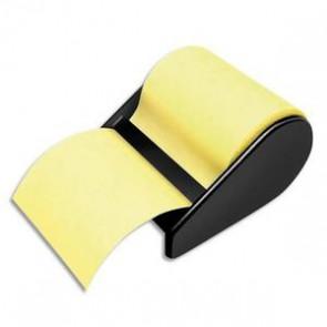 Devidoir avec notes repositionnables jaune, 60mm x 10m 209115
