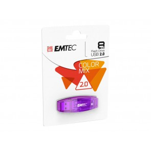 Cle USB 8GB EMTEC COLOR MIX 2.0