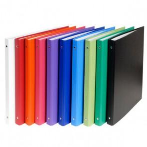 Classeur rigide dos de 2 cm NOIR format extérieur 32 x 25,6cm pour feuilles A4 Exacompta REF. 51150E noir