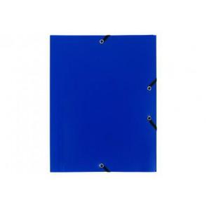 Chemise plastique 24 x 32 cm. rabats élastique