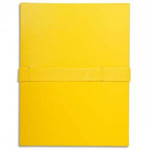 EXACOMPTA Chemise extensible jaune
