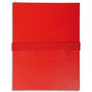 EXACOMPTA Chemise extensible rouge