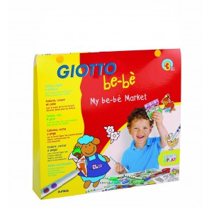 Giotto coloriage thème : le marché
