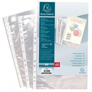 Pochettes perforées 21x29,7(A4) Pochettes perforées